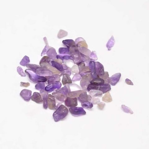 Chips - Natural Amethyst 3~9mm - 50g